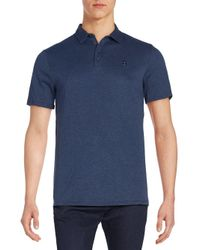 Vince Camuto - Blue Logo Polo Shirt for Men - Lyst