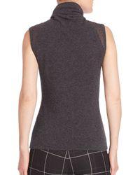 Elie Tahari - Gray Yadi Cashmere Turtleneck Sweater - Lyst