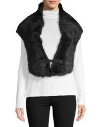 Ugg - Black Classic Sheepskin Dyed Shearling Shrug - Lyst