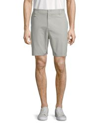 Tavik Gray Classic Cotton Shorts for men