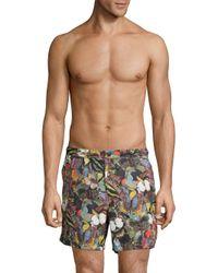 Valentino Multicolor Butterfly-print Swim Shorts for men
