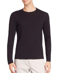 Michael Kors Black Cashmere Interlock Sweater for men