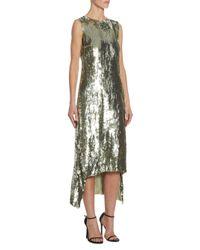 Altuzarra - Multicolor Celia Sequin Shift Dress - Lyst