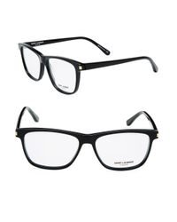 Saint Laurent Black 55mm Optical Glasses