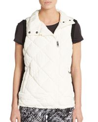 Marc New York | White Quilted Vest | Lyst
