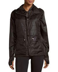 Nanette Lepore - Black Packable Jacket And Vest Set - Lyst