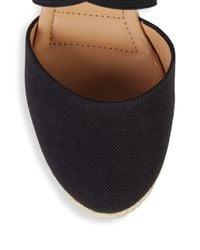 Me Too Black Brinley Criss-cross Wedge Sandals