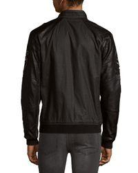 Affliction - Black Moon Cotton Jacket for Men - Lyst