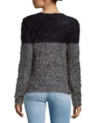 Saks Fifth Avenue - Gray Chic Knit Sweater - Lyst