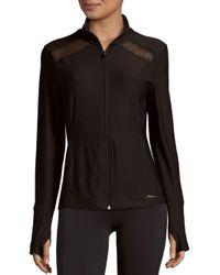 X By Gottex Black Long Sleeve Jacket