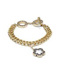 Heidi Daus Metallic Swarovski Crystal Bracelet