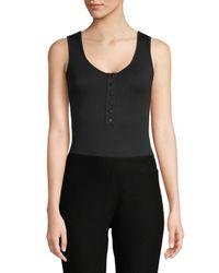 Rachel Pally Black Nedda Sleeveless Bodysuit