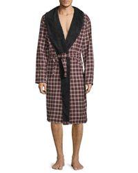 Ugg Multicolor Kalib Plaid Robe for men