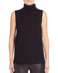 BCBGMAXAZRIA - Black Kalis Knit Turtleneck Sweater - Lyst