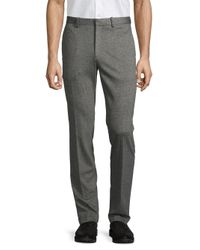 Theory Gray Marled Ponte Pants for men