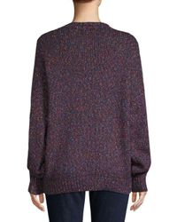 Isabel Marant Purple Arthur Lightning Sweater