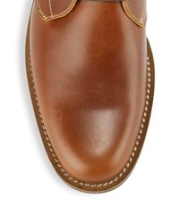 Original Penguin - Brown Monty Leather Chukka Boot for Men - Lyst