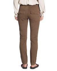 Vince - Multicolor Ankle Zip Utility Pants - Lyst