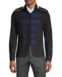 Valentino Black Dragon Cotton Sportcoat for men