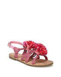 Circus by Sam Edelman Pink Bice Flat Sandals