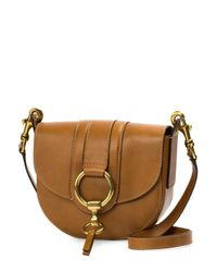 Frye - Brown Ilana Harness Small Leather Saddle Bag - Lyst