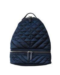 Sam Edelman Blue Penelope Quilted Backpack
