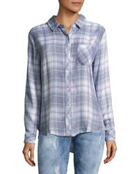 Rails - Blue Hunter Button-down Shirt - Lyst