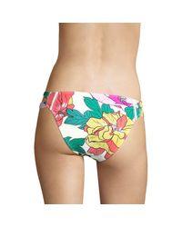 6 Shore Road By Pooja Yellow Santiago Floral Bikini Bottom