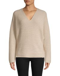Brochu Walker Natural Vanda V-neck Sweater