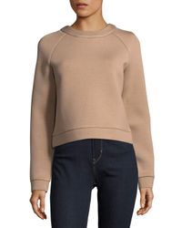 Tibi Multicolor Marisol Roundneck Sweater