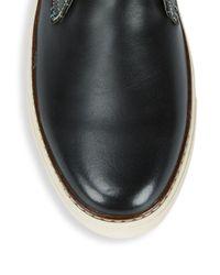 Original Penguin - Black Wayne Leather Oxfords for Men - Lyst
