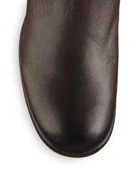 Frye - Brown Lynn Strap Tall Leather Boots - Lyst
