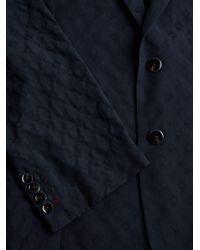 Robert Graham - Blue Diamond-print Jacket for Men - Lyst