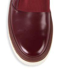 Valentino Multicolor Classic Leather Slip-on Sneakers for men