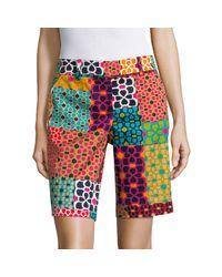 Trina Turk Multicolor Floral-print Shorts
