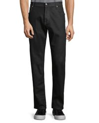 Corneliani Black Classic Dark Jeans for men