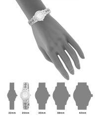 Hermès Metallic Vintage White Stainless Steel Clipper Watch