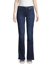 7 For All Mankind Blue Kimmie Bootcut Jeans