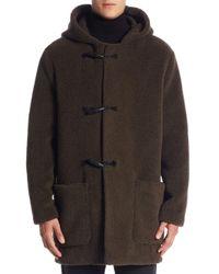 Vince Green Regular-fit Toggle Coat for men