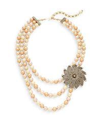 Heidi Daus - Sparkle In Your Eye Swarovski Crystal & Multicolor Rhinestone Beaded Pendant Necklace - Lyst