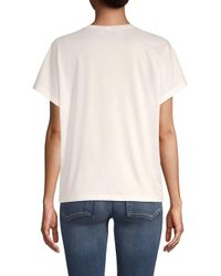 Valentino White Classic Short-sleeve Cotton Tee