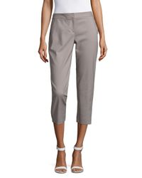 Vince Camuto - Gray Cropped Pants - Lyst