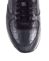 Facto - Multicolor Embossed Leather Sneakers for Men - Lyst