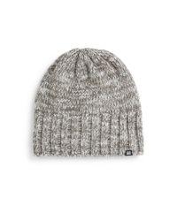 Block Headwear - Gray Marled-knit Beanie - Lyst