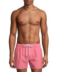 2xist Multicolor Essentials Ibiza Varsity Board Shorts for men