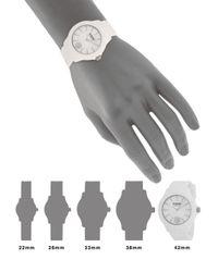 Versus  - 42mm Tokyo White Dial Silicone Strap Watch - Lyst