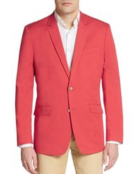 Ben Sherman - Red Cotton Sportcoat for Men - Lyst