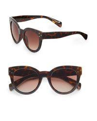 Fantaseyes - Brown Langham 50mm Cat's-eye Sunglasses - Lyst