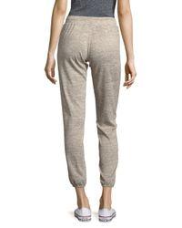 Project Social T Gray Textured Jogger Pants