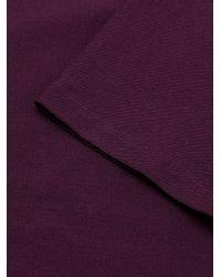 Eileen Fisher Purple Scoopneck T-shirt Dress